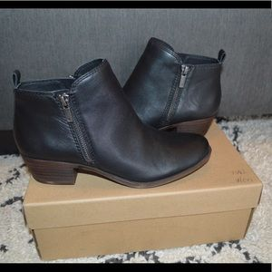 Lucky Brand Basel Black Booties